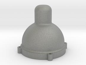 new dim glass nipple end in Gray Professional Plastic