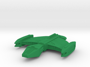 Romulan Science Ship 1/1000 in Green Processed Versatile Plastic