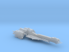 UNSC destroyer Newman class in Smooth Fine Detail Plastic