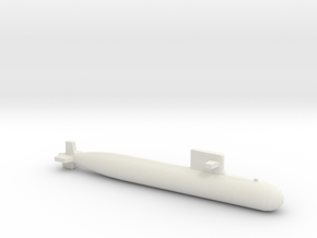PLA[N] 093A Submarine, Full Hull, 1/2400 in White Natural Versatile Plastic