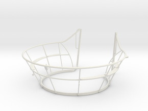 1/16 DKM U-Boot VII/C Wintergarten in White Natural Versatile Plastic