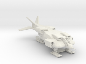 UD-4L-W Cheyenne Dropship 160 scale  in White Natural Versatile Plastic