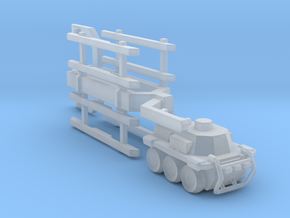 A-CMa1 Truck and Trailer 160 scale in Smooth Fine Detail Plastic