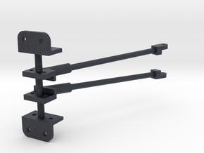 119 brace-yoke assembly & cab bracket in Black Professional Plastic