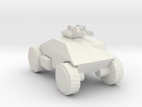 Aliens M555 scout 72 scale in White Natural Versatile Plastic