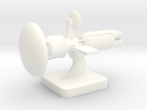 Mini Space Program, Interplanetary Ship 6 in White Processed Versatile Plastic