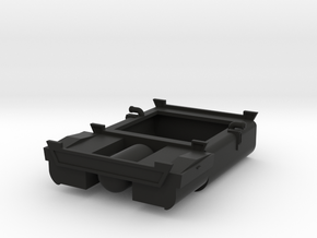 EMD F Unit Fuel Tank in Black Natural Versatile Plastic