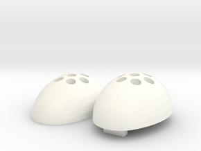 iButton Cloak in White Processed Versatile Plastic
