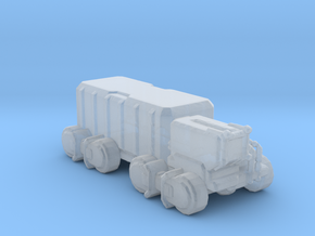 A-CMX360 Cargo Truck 285 scale in Smooth Fine Detail Plastic