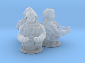 Gunner Ho v1 x3 in Smooth Fine Detail Plastic