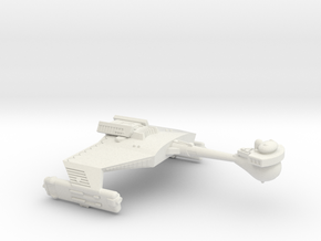 3788 Scale Romulan KDR War Cruiser WEM in White Natural Versatile Plastic