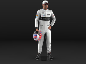 Jenson 1/6 Standing Figure in Natural Full Color Sandstone
