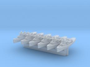 Navajo/Cherokee Class Tug x6 (FUD) in Smooth Fine Detail Plastic: 1:3000