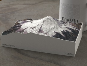Mt. Elbrus, Russia, 1:100000 Explorer in Full Color Sandstone