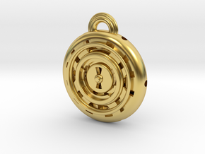 Time Orb in Polished Brass
