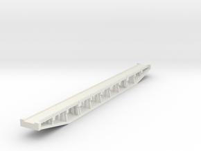Z Concrete Bridge  in White Natural Versatile Plastic