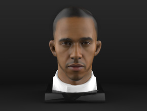 Lewis 1/4 Head Figure in Natural Full Color Sandstone