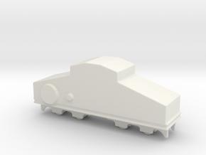 locomotive  Locotracteur Crochat 1/144 in White Natural Versatile Plastic