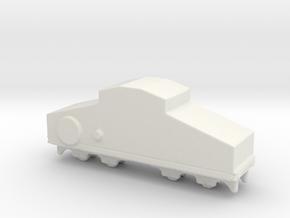 locomotive  Locotracteur Crochat 1/285 in White Natural Versatile Plastic