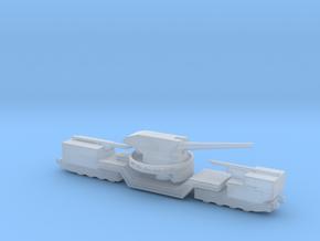 soviet railway artillery TM-1-180 1/160  in Smooth Fine Detail Plastic
