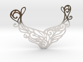 Butterfly pendant in Platinum: Large