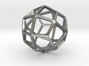Deltoidal Icositetrahedron in Natural Silver: Small