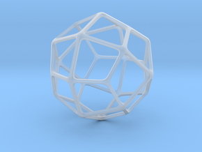 Deltoidal Icositetrahedron in Smooth Fine Detail Plastic: Medium
