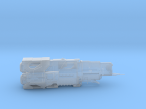 UNSC Halcyon Class Cruiser high detail small in Smooth Fine Detail Plastic