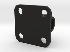 30x30 Flat GoPro Mount Thumbscrew End in Black Natural Versatile Plastic