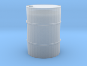 1/24 55 gal barrel in Smooth Fine Detail Plastic