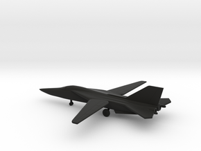 General Dynamics F-111A Aardvark in Black Natural Versatile Plastic: 6mm