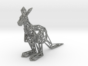 Red Kangaroo (male adult) in Gray Professional Plastic