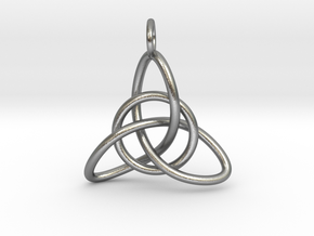 Celtic Knot in Natural Silver (Interlocking Parts)