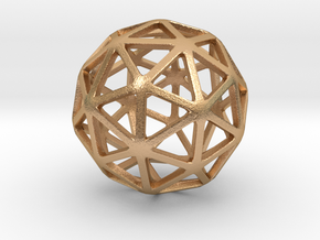 Pentakis Dodecahedron in Natural Bronze: Small