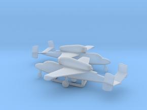 Heinkel He 162 Salamander in Smooth Fine Detail Plastic: 1:200