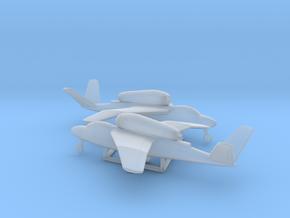Heinkel He 162C Salamander in Smooth Fine Detail Plastic: 1:200