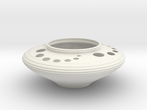 Bowl CC43 in White Natural Versatile Plastic