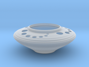 Bowl CC43 in Smooth Fine Detail Plastic