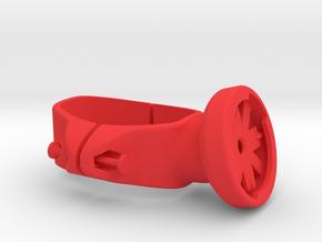 Look 695 Series Varia Seat Post Mount in Red Processed Versatile Plastic