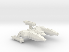 3125 Scale Lyran Alleycat-E War Destroyer Escort in White Natural Versatile Plastic