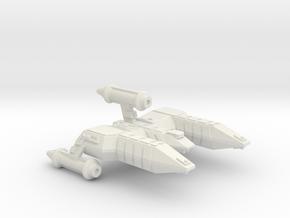 3125 Scale Lyran Alleycat-E War Destroyer Escort in White Natural Versatile Plastic