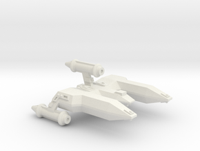 3788 Scale Lyran Alleycat-E War Destroyer Escort in White Natural Versatile Plastic