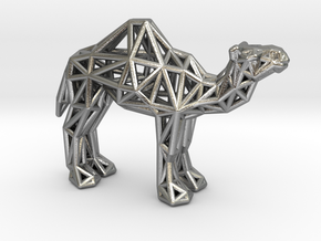 Dromedary Camel (adult) in Natural Silver