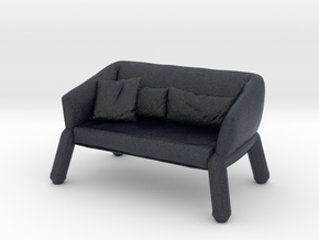 Miniature Nikos Sofa - Bonaldo in Black PA12: 1:48 - O