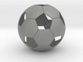 Soccer ball in Gray PA12