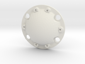 WPL Smooth Diff Cover in White Natural Versatile Plastic