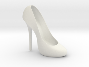 Right Classic Pumps Shoe in White Natural Versatile Plastic