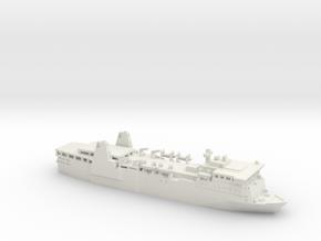1/1200 MF Siren in White Natural Versatile Plastic