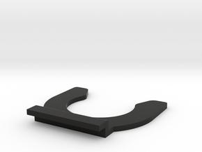 Sinclair C5 Boot Clip in Black Natural Versatile Plastic
