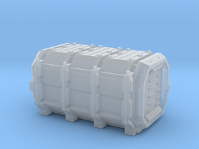 Grim container 2 in Smooth Fine Detail Plastic
